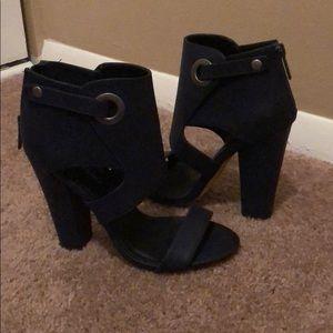 Brand new mid nite blue heels